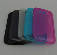 Wholesale Skin Galaxy Duos - hot cheap soft TTPU S line phone case cover skin shell for Galaxy Grand Duos i9080 i9082 cheap case
