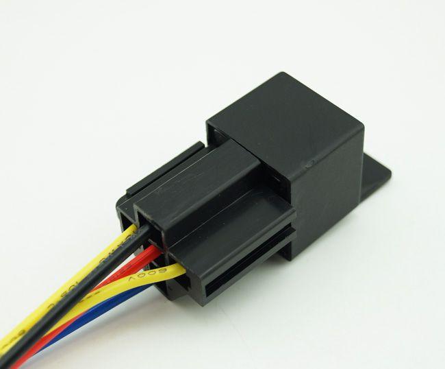 2018 5 Pin 12v Dc 3040a Automotive Auto Relay Amp Relay Socket