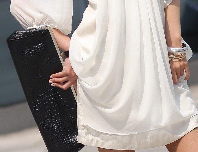 2017 Hot fashion Summer Women Dresses bianco chiffon Party Dress Bohemian coreano mezza manica Casual vestito da principessa