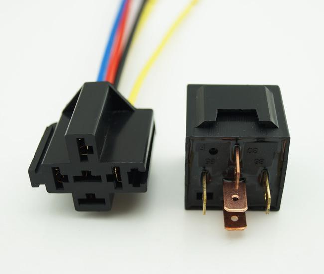 2020 12v Dc 70  80a Automotive Auto Relays 5 Wire  U0026 Relay