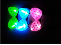 LED Flash Bow Card-émission de la coiffure lumineuse headband concert party supplies
