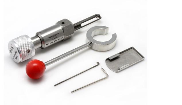 HH Hua huang 2 en 1 picking y decodificador 7pin MUL-T-Lock lock tools RIGH .., HERRAMIENTAS LOCKSMITH, cortador de llave, L