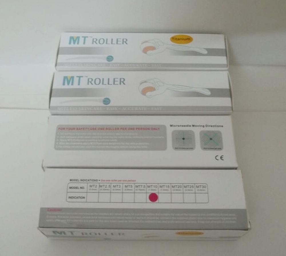 20 pz / lotto MT eye derma roller, MT 180 microneedle eye dermaroller. derma rolling system, skin roller.
