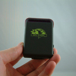 Wholesale Mini Vehicle Gps Tracking Device - Smallest GPS Tracking Device Mini Spy Vehicle Realtime Portable GPS Tracker TK102
