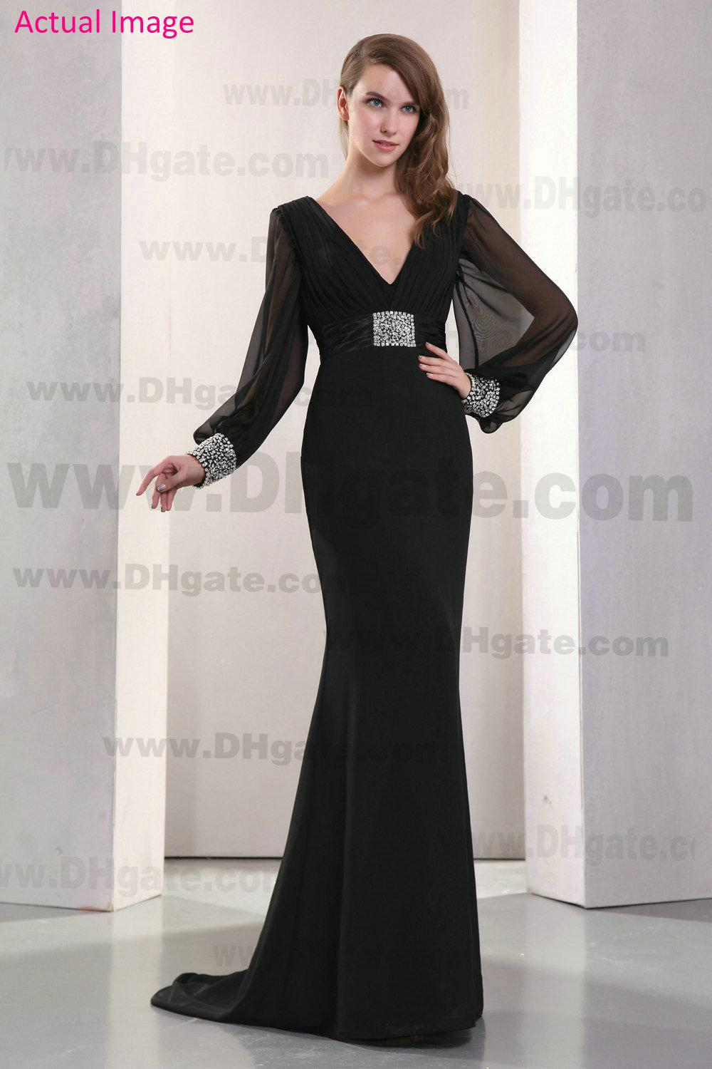 Black Evening Gown Photo Album - Reikian