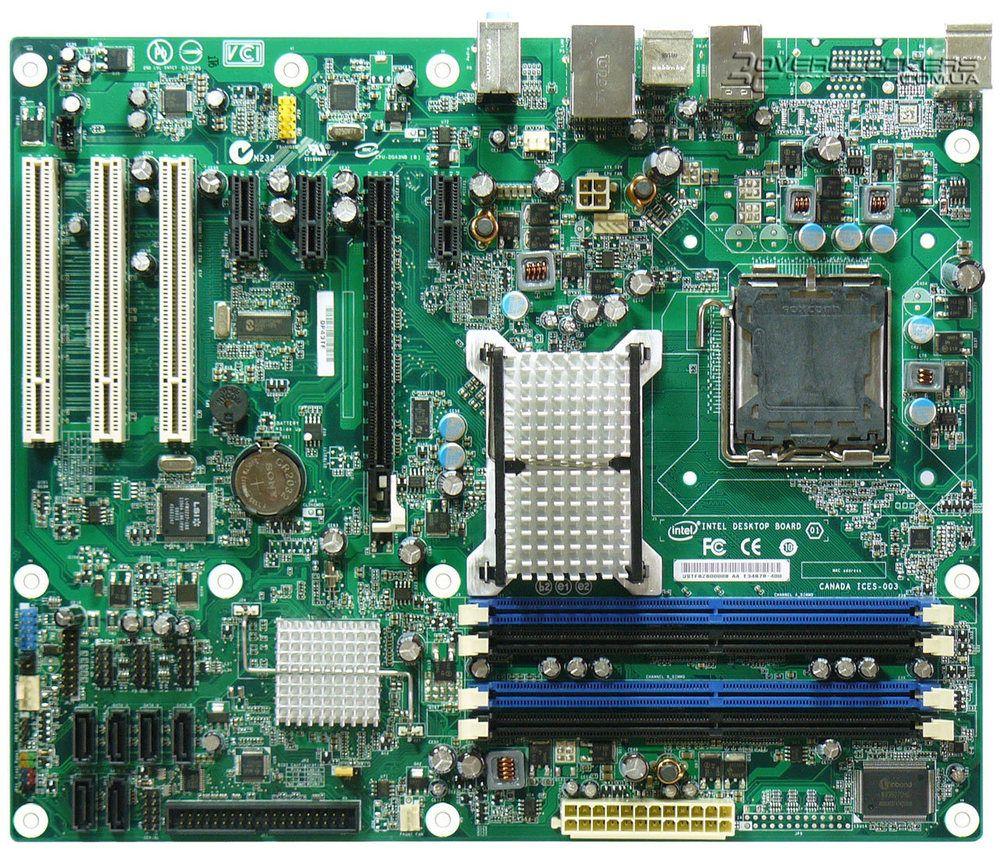 2017 Intel Dp43tf Ddr2 Lga775 Atx Desktop Motherboard