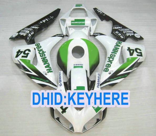 For HONDA CBR1000RR 2006 2007 CBR 1000 RR 06 07 Hannspree Fairing 01 motocycle bodywork