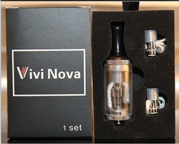 Wholesale Ego Sets Vivi - Vivi Nova Tank Atomizer Set 2.8ml 3.5ml Huge Vapor Clearomizer for E Cigarette Ego Series w  Coil Head in retail package