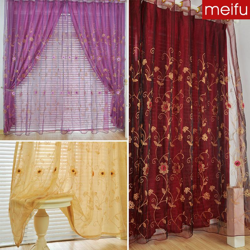 double layer curtains double layered 2018 mobil embroidered tulle double layer curtain window screeningfrom lyd580 5637 dhgatecom