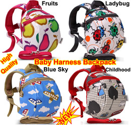 Wholesale Toddler Backpack Harness Leash - Baby Toddler Infant Kids Keeper Nursery Safety Harness Backpack Strap Rein Belt Leash Shoulder Bag