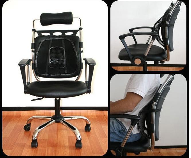 5 adet / grup Toptan Araba Koltuğu Ofis Sandalye Masaj Geri Lomber Destek Örgü Havalandırma Yastık Pad