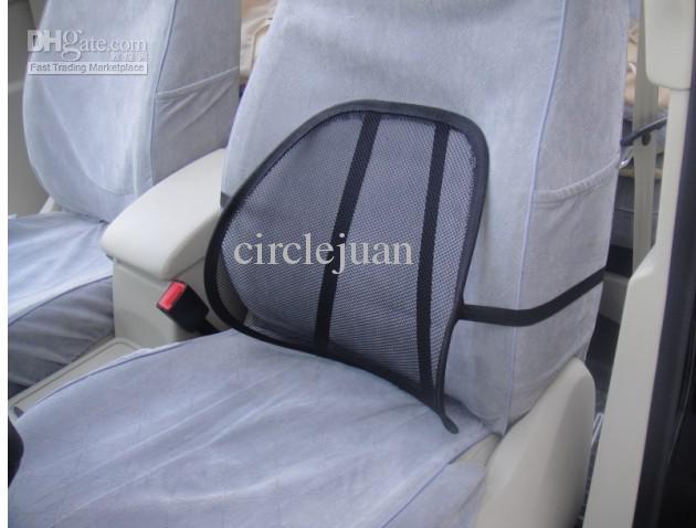 Car Chair Seat Back Surpport Mesh Lumbar Brace Cushion