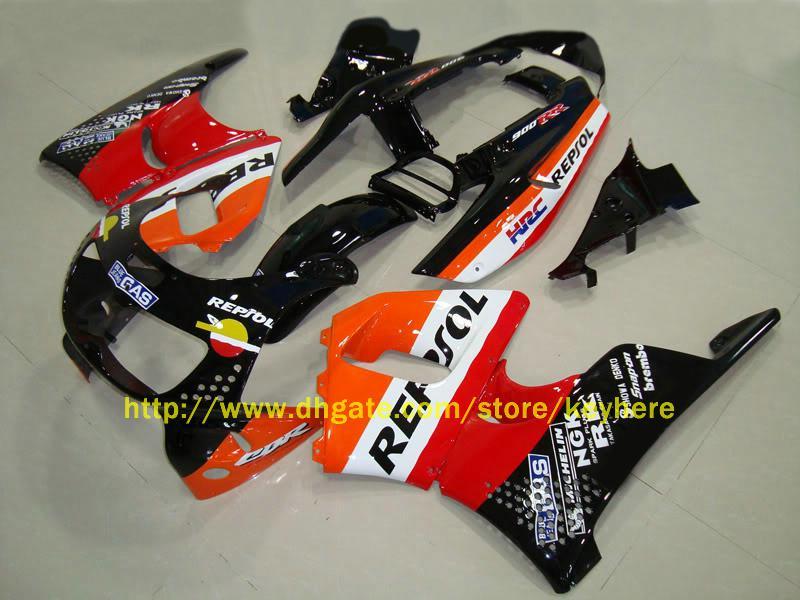 H74 Passform för Honda CBR900RR 893 1992 1993 1994 1995 CBR 900RR 92 93 94 95 Repsol ABS Racing Fairing