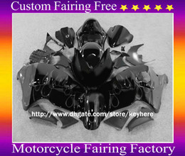 Discount hayabusa grey fairing - bodywork fairings For SUZUKI Hayabusa GSX1300R 1996-2007 GSX-R1300 White Flames Grey Fairing ZZ548