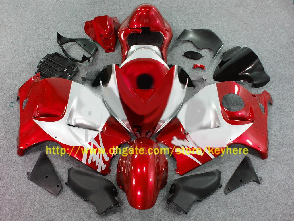 Carrosseriebereiken voor Suzuki Hayabusa GSX1300R 1996 1997 1998 1999 2000 2007 GSX-R1300 Red Fairing 36Z22