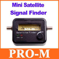Wholesale Lnb Satellite Digital Meter - Satellite Signal Finder Meter For Sat Dish LNB DIRECTV Freeshipping Dropshipping