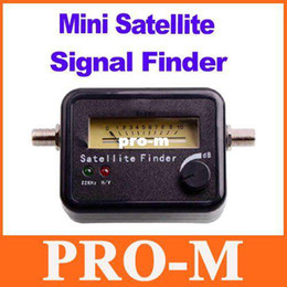 Wholesale Signal Finder For Satellite Dish - Satellite Signal Finder Meter For Sat Dish LNB DIRECTV Freeshipping Dropshipping