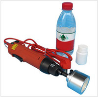 Wholesale Electric Hand held Screw Round Cap Capping Machine Easy operation capper bottle sealin