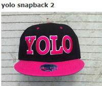 Wholesale Yolo Snap - Adjustable Quality YOLO Snapback Snapbacks Hats Caps Snap back Baseball hats Hat Cap Many Colours Top Quality Fast Ship