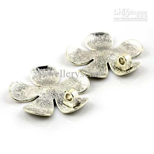 / pendenti di fascino in lega di zinco del fiore dei risultati della sciarpa dei gioielli di DIY, trasporto libero, AC0001