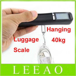 Wholesale Best Pocket Scales - Best Lowest Price 50pcs 40kg 10g Electronic Scale Weight Digital Luggage Hanging Handheld Portable Pocket Scales