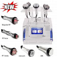 ultrason güzellik cihazları toptan satış-Yeni varış Ultrason ZAYıFLAMA 40 K Kavitasyon makinesi BIPOLAR TRIPOLAR MULTIPOLAR RF kilo kaybı güzellik cihazı