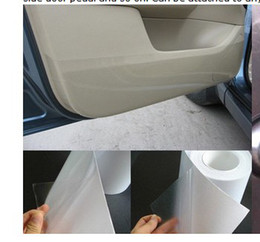 Wholesale Vinyl Car Paint - 30M Rhino Skin Car Bumper Hood Paint Protection Film Vinyl Clear Econo Paint Protection Film