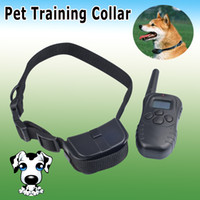 Wholesale New LCD LV Level Shock Vibra Remote Pet Dog Training Collar for lb l Singpore