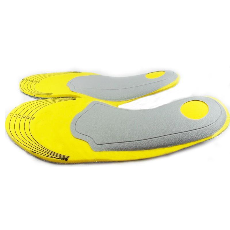 Venda quente Guarda de Pé de Cuidados de Saúde, Palmilhas Esportivas, O Apoio do Pé Arch, amortecimento Pad Sapato palmilha de espuma de memória 200 pares / lote
