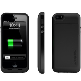 Wholesale Iphone5 Power Cases - 2013 High quatlity 2200mAh Power Pack Maxboost Defender External Protective Battery Case for iPhone5