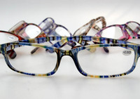 Wholesale Cheap Eyeglasses Frames Wholesale - New Cheap Reading Glasses Frame Man And Women Plastic Eyewear Unisex Eyeglasses Colorful Frame Optical Glasses 40pcs lot CW2081