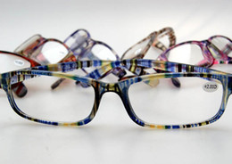 Wholesale Wholesale Colorful Optical Frames - New Cheap Reading Glasses Frame Man And Women Plastic Eyewear Unisex Eyeglasses Colorful Frame Optical Glasses 40pcs lot CW2081