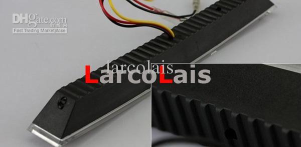 4 Styles 9 LED / 12 LED Daytime Running Light 5050 SMD Segnale di direzione Veicolo auto DRL