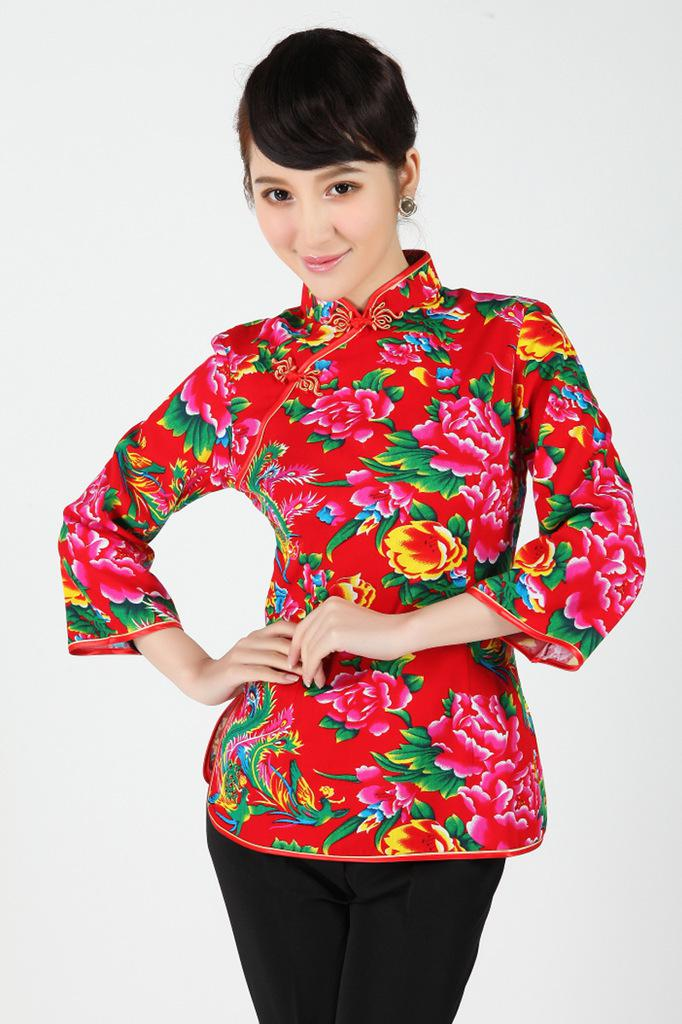Traditional Chinese Clothing Dress Tang Costumes Women Tang Blouse Ladies Blouses Tang Costume ...