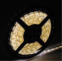 Wholesale Tv Leds - LED Strip Lights 5050 SMD single color red blue white Warm Yellow Green Waterproof 300 LEDs Ribbon 5000 meter For Car IDEAS TV BACK LIGHTS