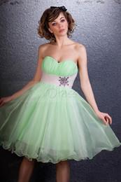 Wholesale Dramatic Short Dress - 2015 Custom Dramatic Short Empire Sweetheart Daria's Homecoming Sweet Sixteen Dress