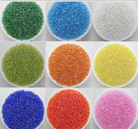 semillas checas al por mayor-Brillante / chapado en color / multicolor 2MM / 3MM / 4MM Czech Glass Seed Spacer beads Jewelry DIY Accessor