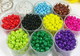 Wholesale Seed Bead 3mm - Porcelain seed beads 2MM 3MM 4MM Czech Glass Seed Spacer beads Jewelry DIY Accessor