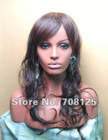 Wholesale Mannequin Heads For Jewelry - Fiberglass Realistic mannequin head bust for wig   jewelry collection