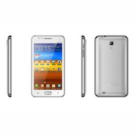 Wholesale Mtk6577 512mb - MTK6577 Android Cell Phone N9770 Android 4.0.4 OS Quadband GPS Wifi Smart Phone 1.2GHZ Dual-core