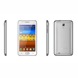 Wholesale Android Os Cell Phones - MTK6577 Android Cell Phone N9770 Android 4.0.4 OS Quadband GPS Wifi Smart Phone 1.2GHZ Dual-core