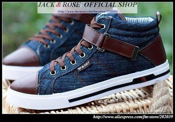 Fashion Men S Canvas Shoes Sneakers Shoes Boat Shoes For Men Navy