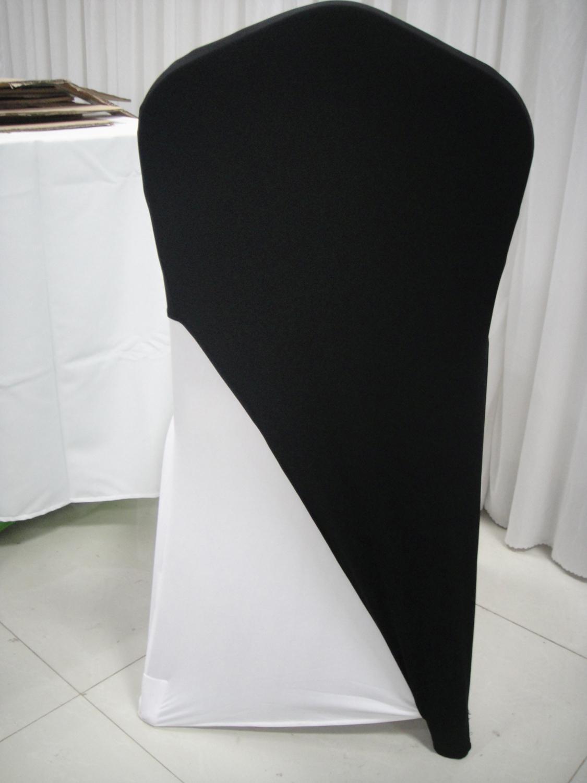 Black Spandex Lycar Chair Cover Cap Chair Cap Spandex