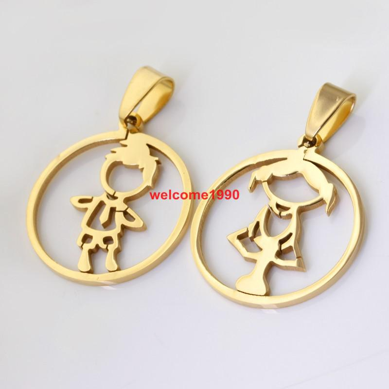 pendant medals necklace girl pendants collections a clear necklaces toddlers baby crystal pink yellow newborn girls plated infants flower gold