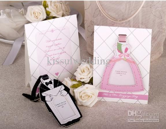 Wedding Gifts Store: Wedding Gifts Of Bride And Groom Design Luggage Tag Top