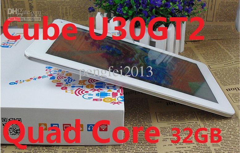 Câmera dobro da tela 2GB RAM 32GB da retina IPS do PC da tabuleta do núcleo do quadrilátero FHD do cubo U30GT2 RK3188 RK3188