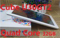 таблетка с двумя ядрами 2gb оптовых-Cube U30GT2 RK3188 Четырехъядерный планшетный ПК FHD Retina IPS Экран 2GB RAM 32GB Двойная камера