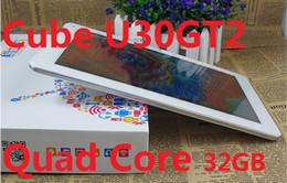 Macchina fotografica del cubo wifi online-Cube U30GT2 RK3188 Quad Core Tablet PC FHD Retina IPS schermo da 2 GB RAM 32 GB doppia fotocamera