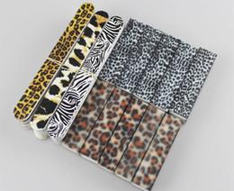 Wholesale Leopard Nail Buffer Wholesale - 40pcs Leopard Print Serie Nail Care Set File Buffer Block For Salon Nails Manicure & Pedicure 506