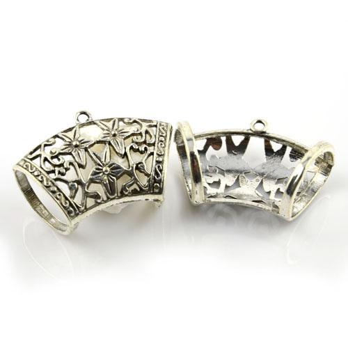 / bricolage bijoux constatations écharpe étoile alliage glissière tenant tube charme, livraison gratuite, ac0021